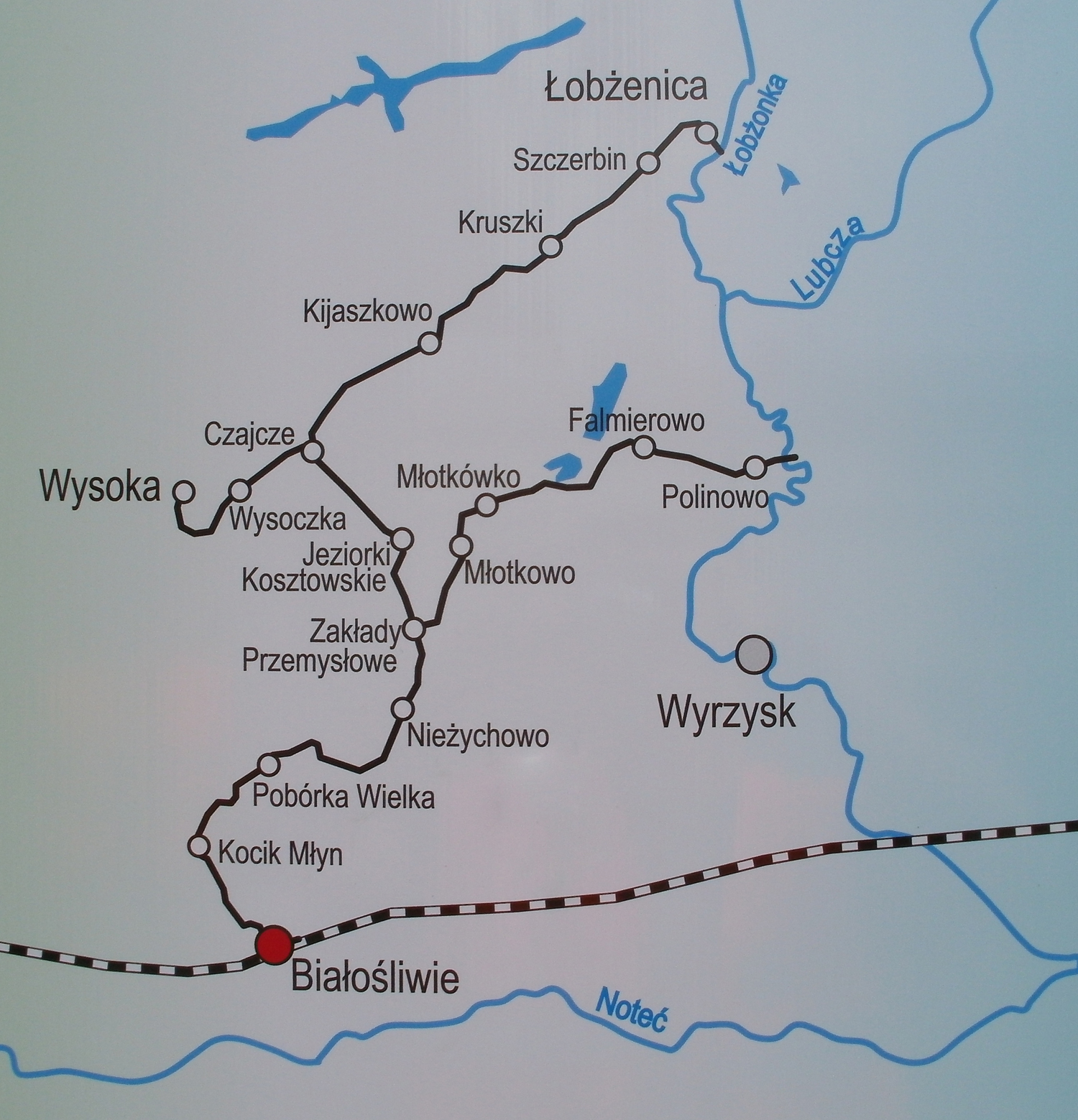 Obecna mapa WKP