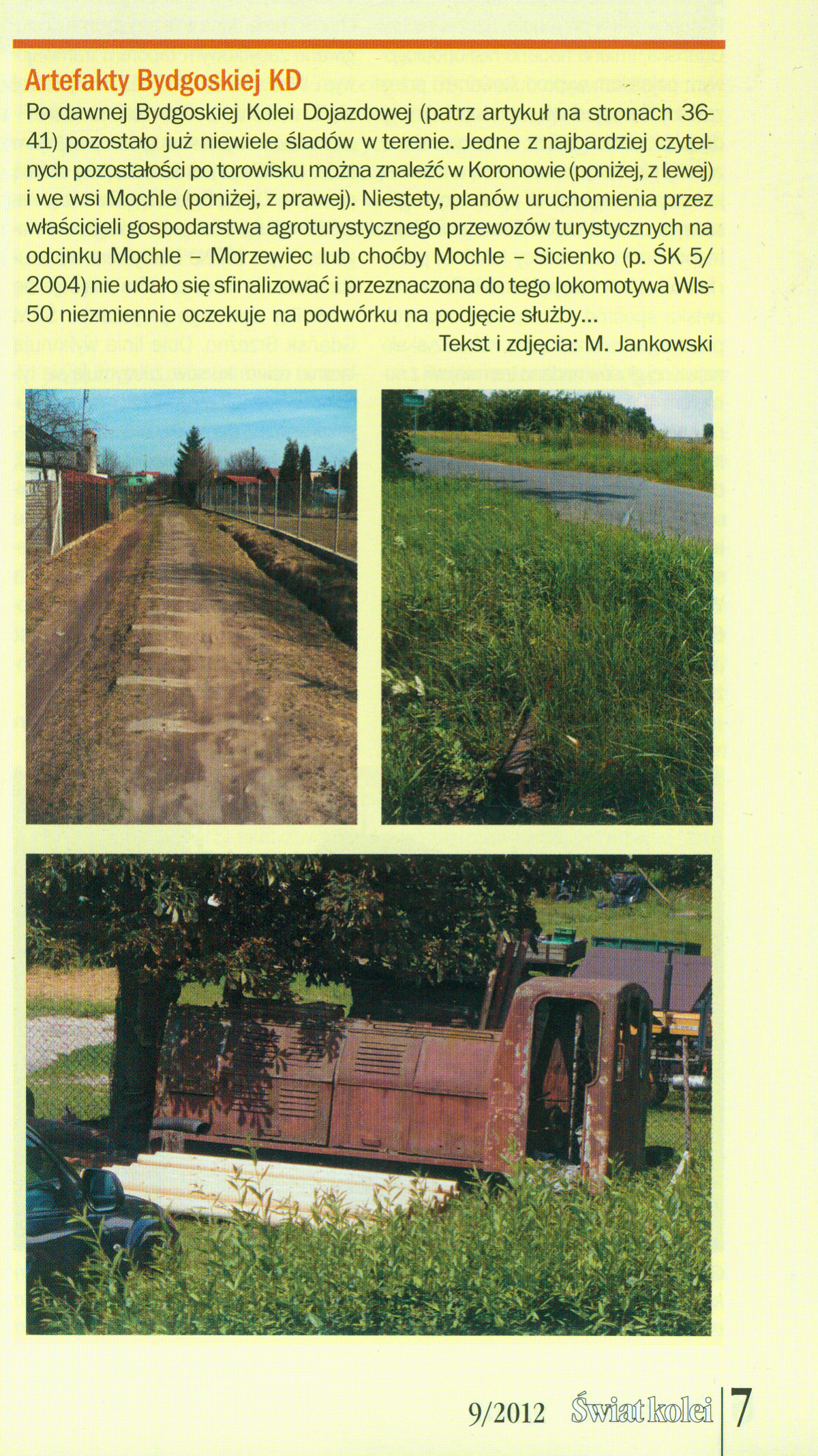 Świat kolei 09/2012